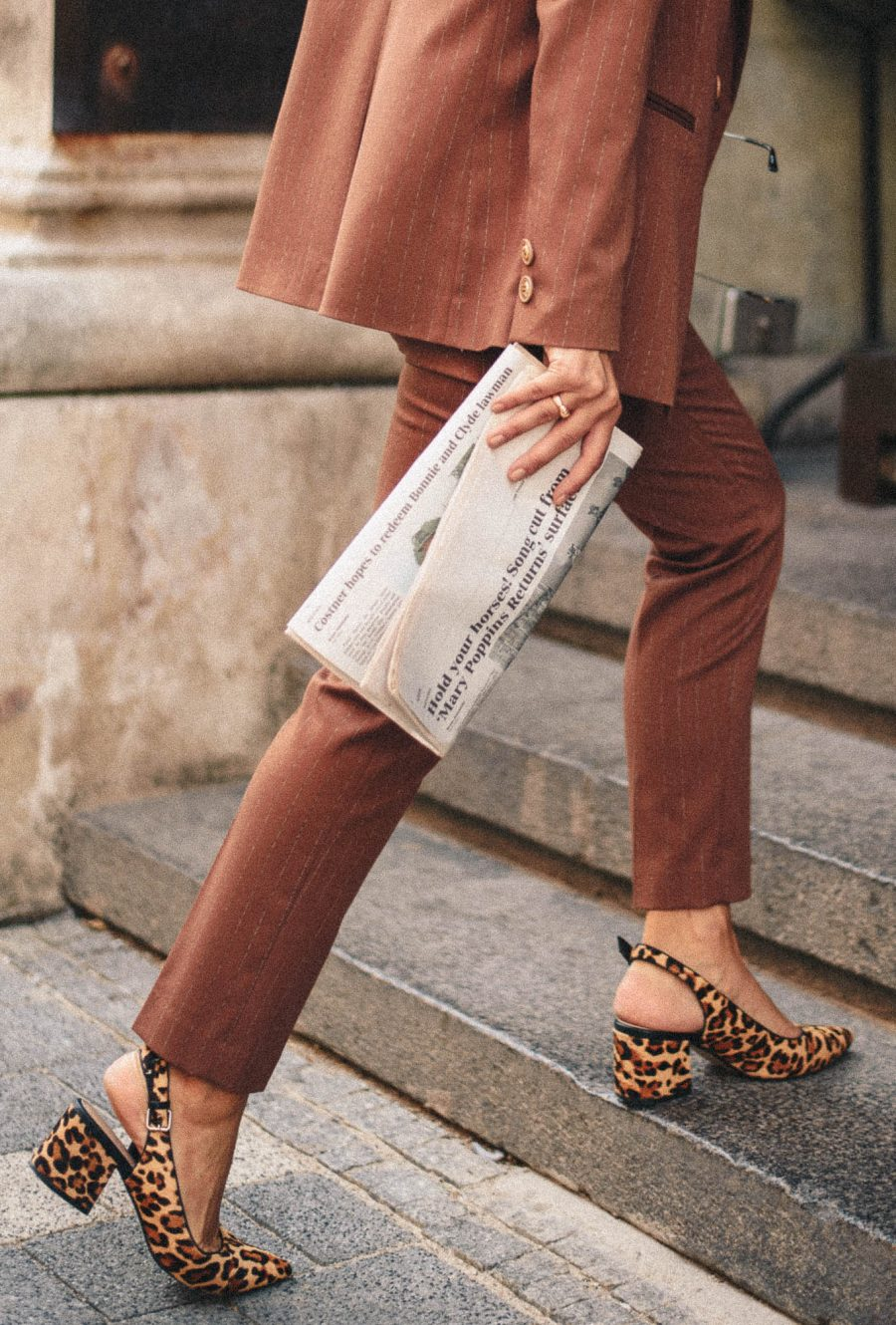 Brown trousers Denina Martin collection