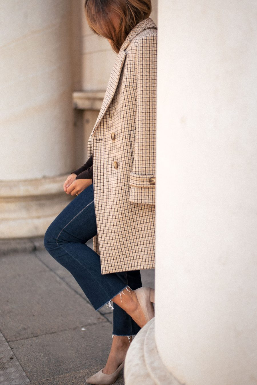 Karina coat by Denina Martin Collection