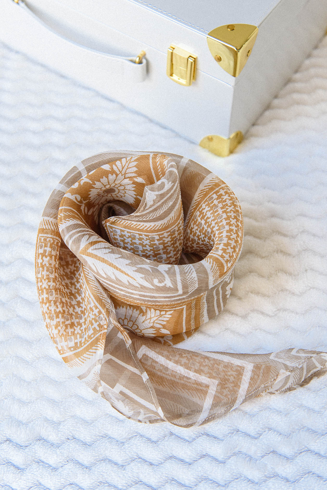 Silk scarf dmc