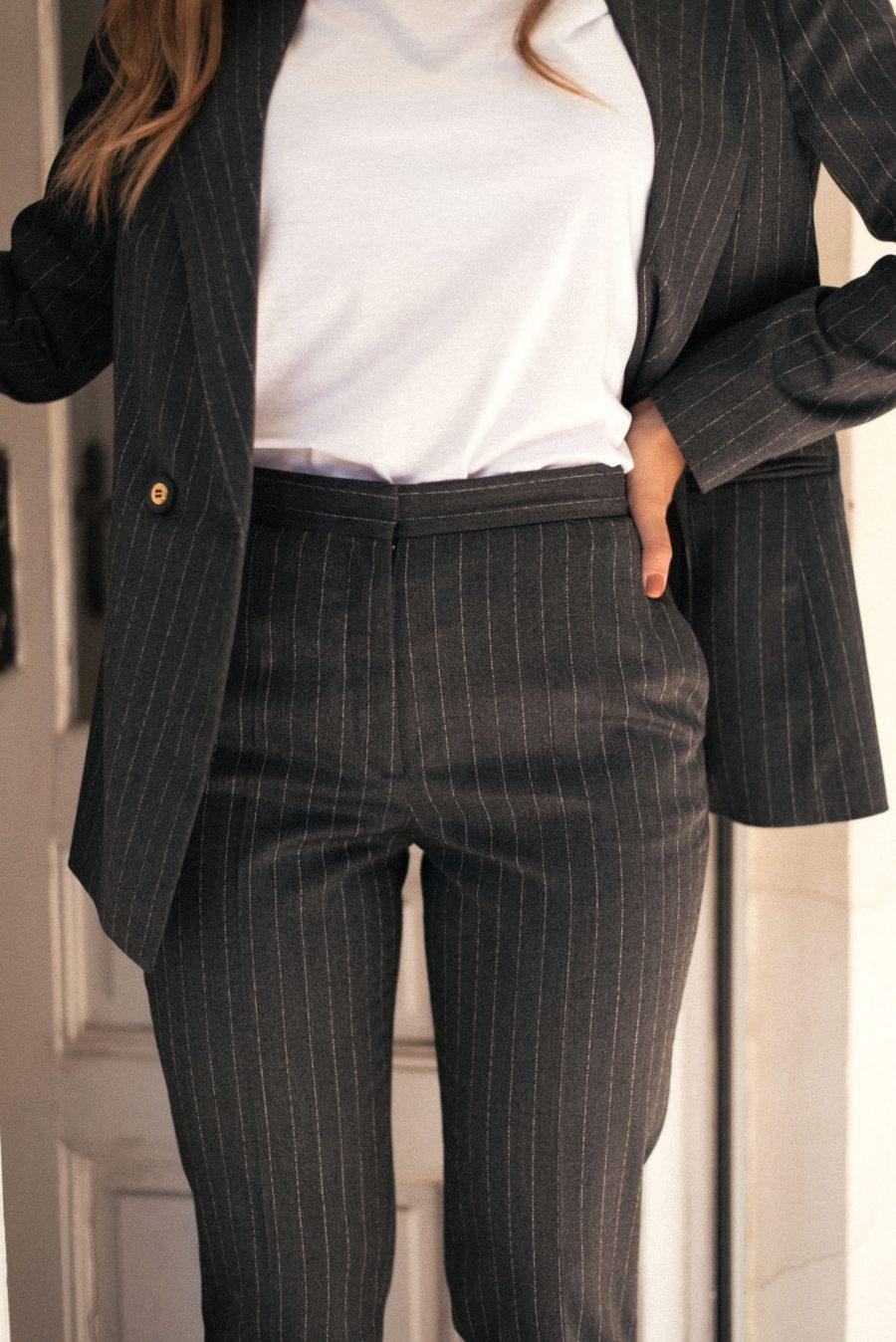 Victoria gray trousers
