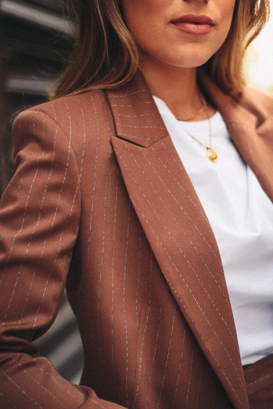 Denina Martin Collection blazer details