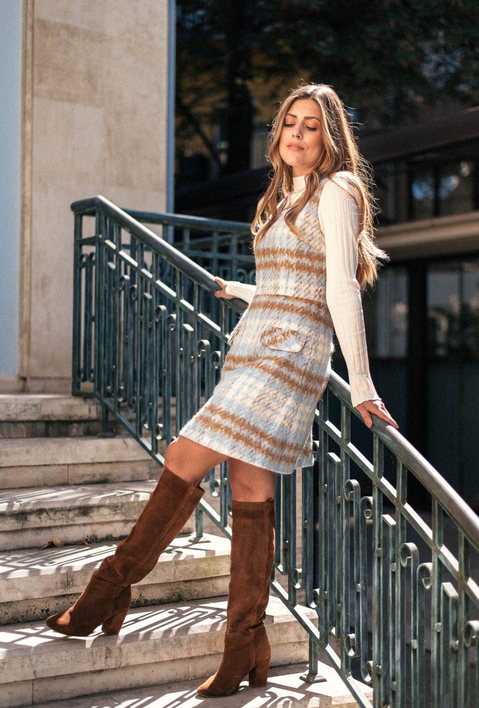 Denina Martin pinafore dress