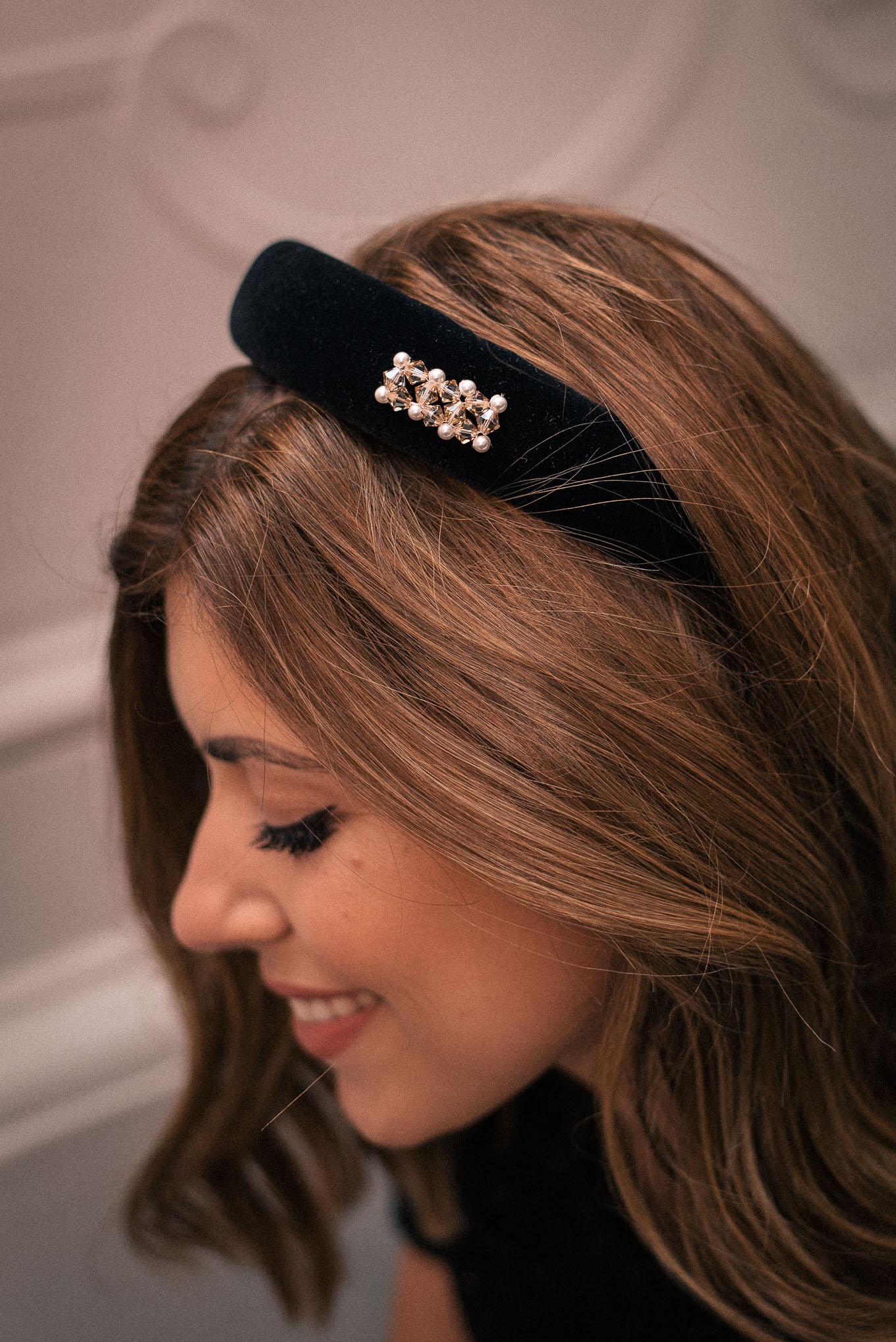 Headband with Swarovski