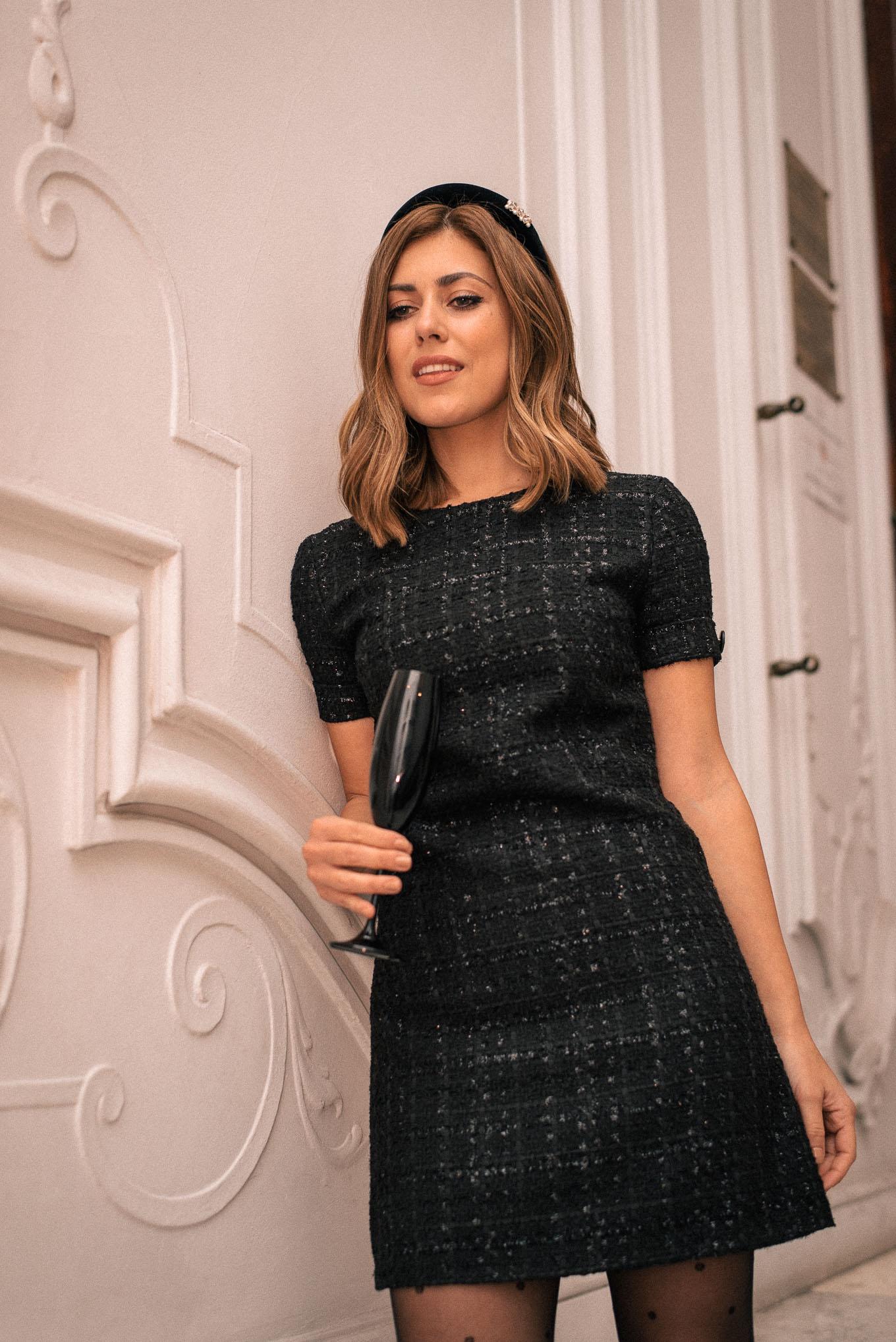 Aria little black dress