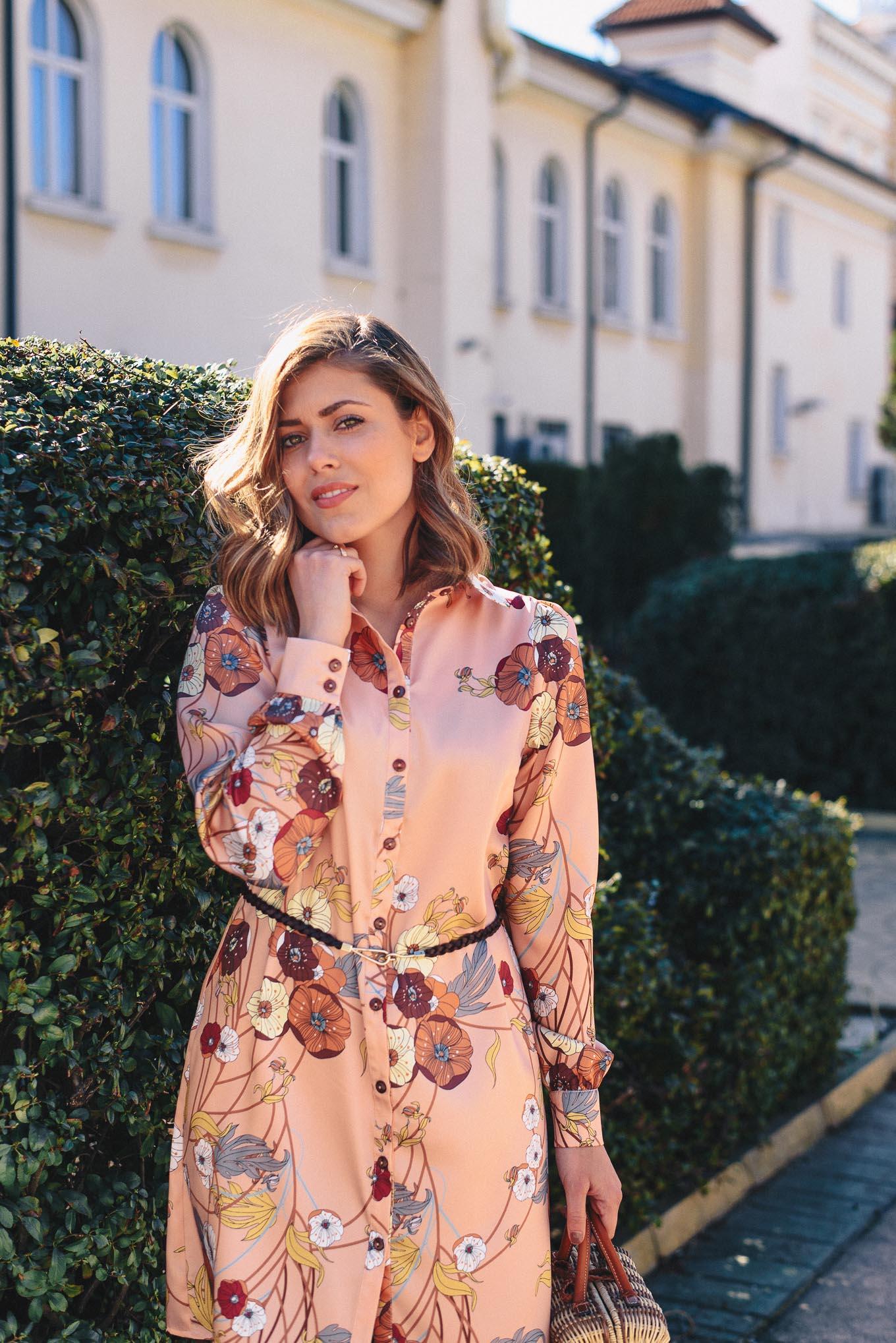 Beautiful flora dress by Denina Martin