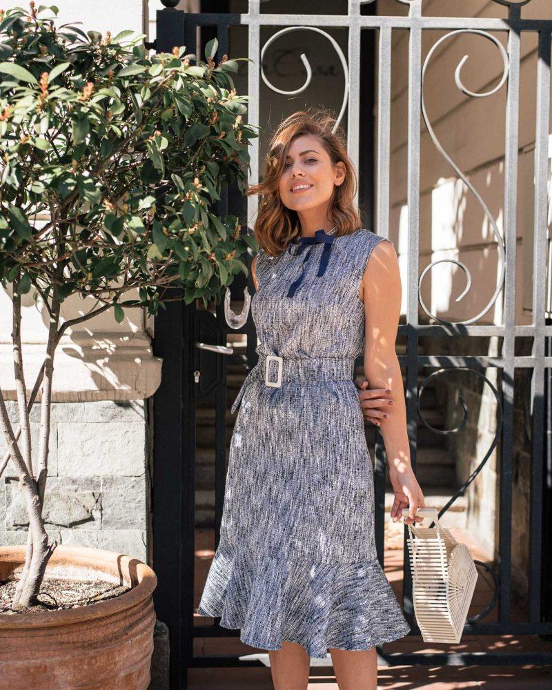 Denina Martin Collection_blue dress_4998