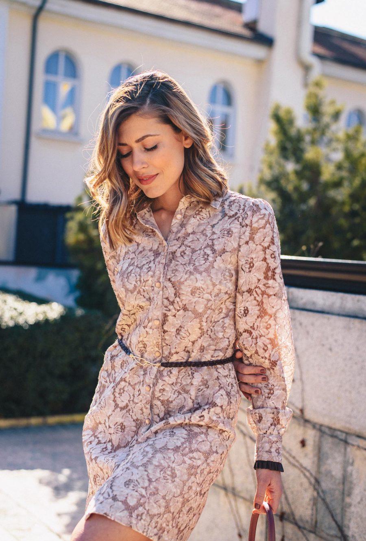 Denina Martin Spring lace dress