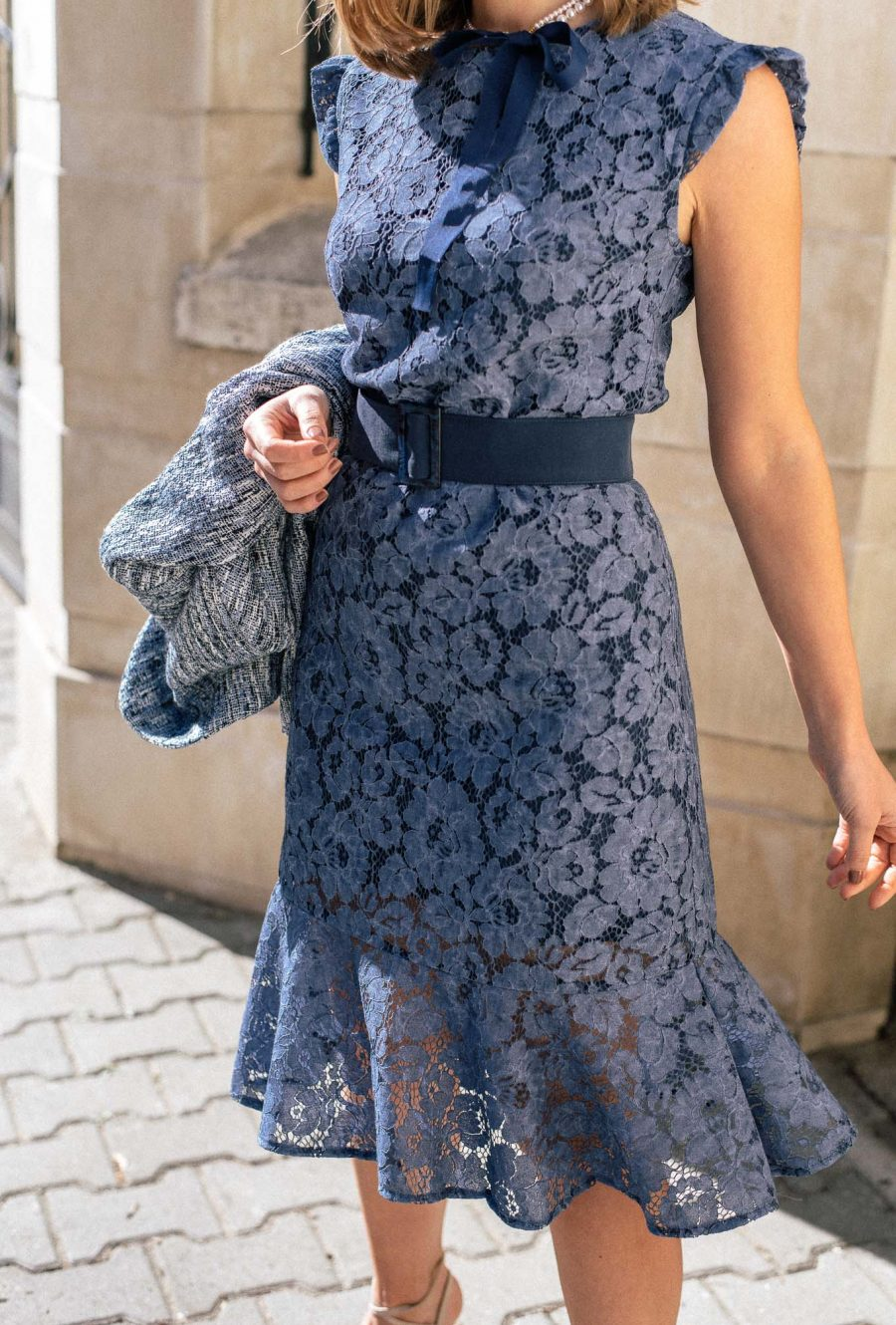Lace dress from Denina Martin Collection
