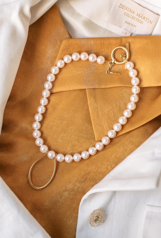 Swarovski pearls Denina Martin