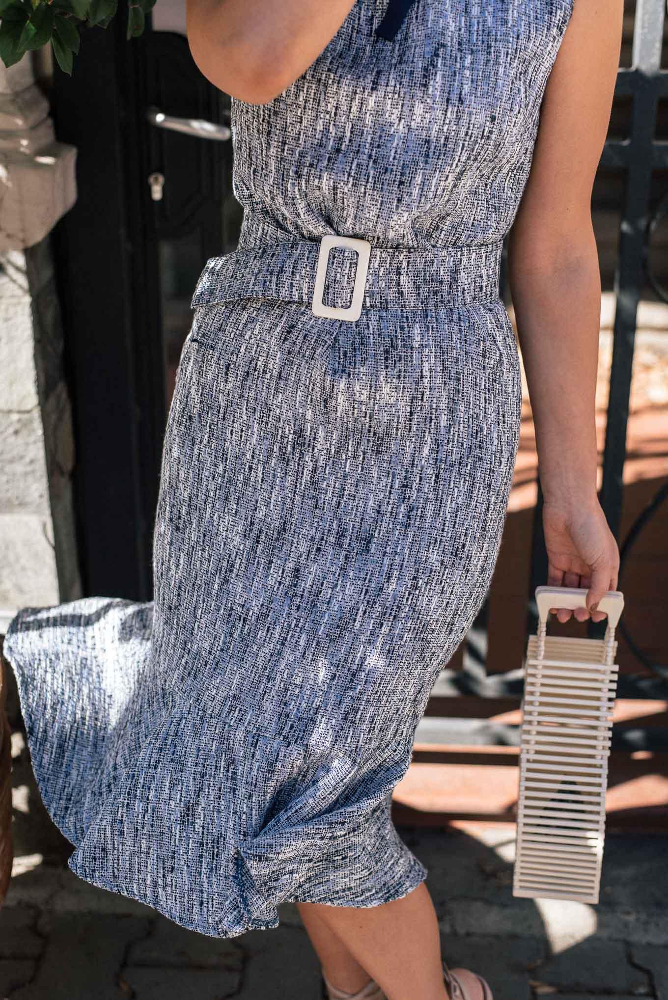 joanna tweed dress SS20