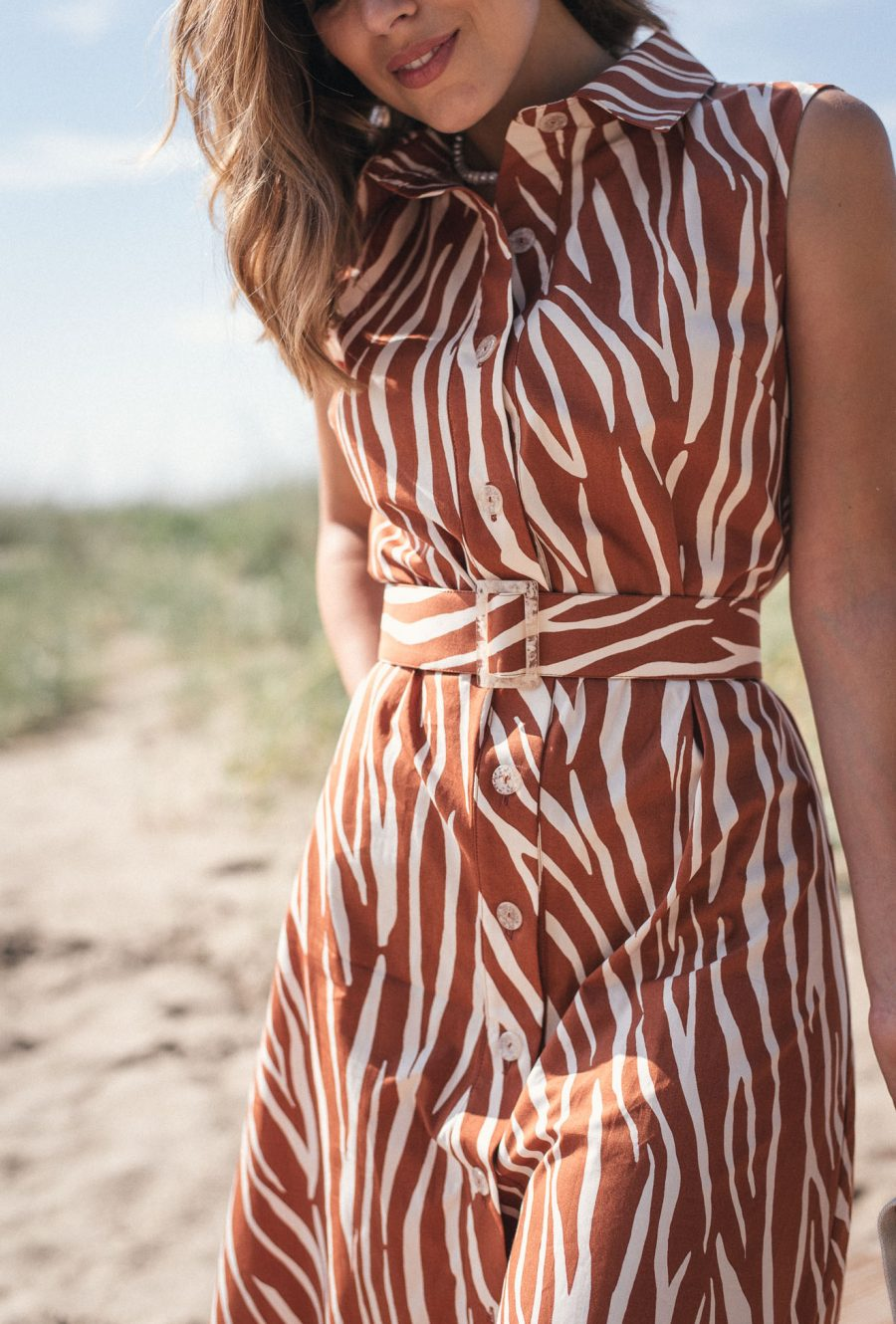 Beach style dress from the collection