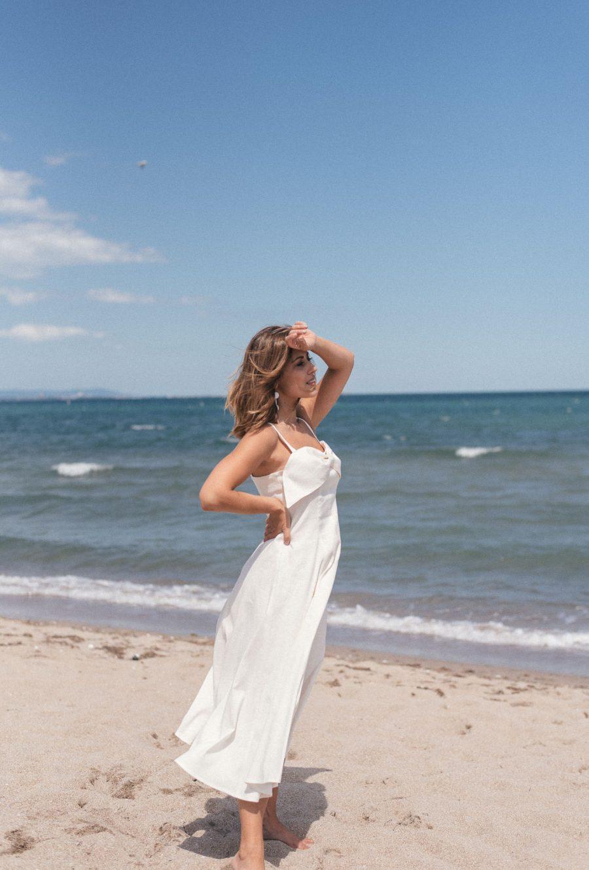 Riviere beach linen dress