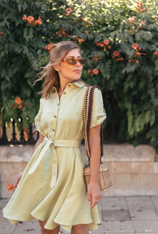 Denina Martin summer linen collection dresses