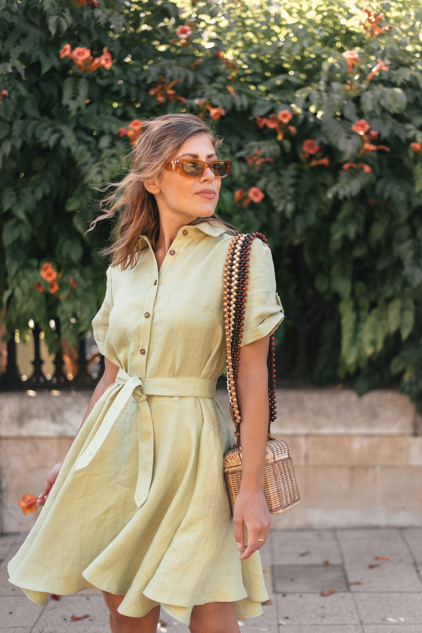 Denina Martin summer linen collection dresses