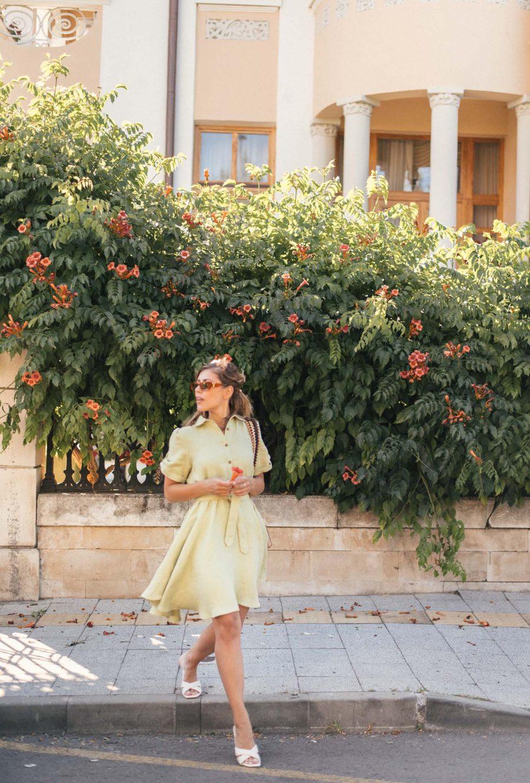 New in - Linda linen shirt dress