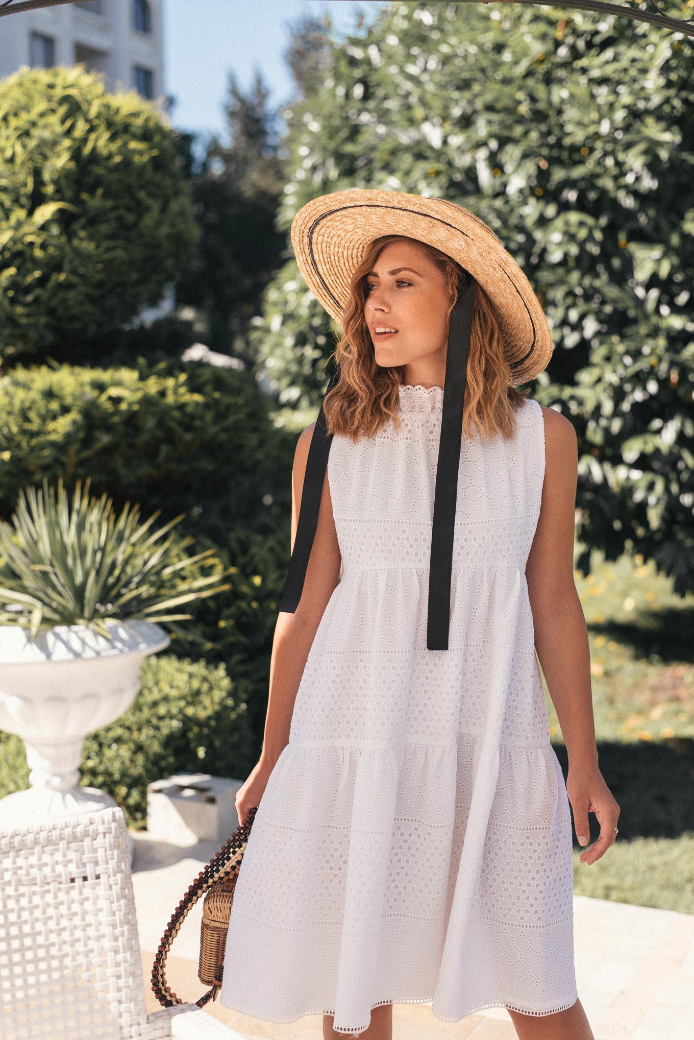 Natalie white dress - summer collection