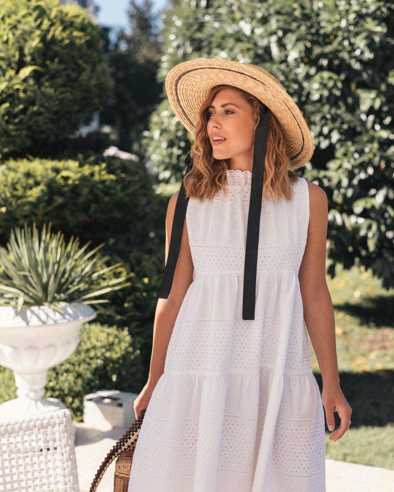 Natalie white dress