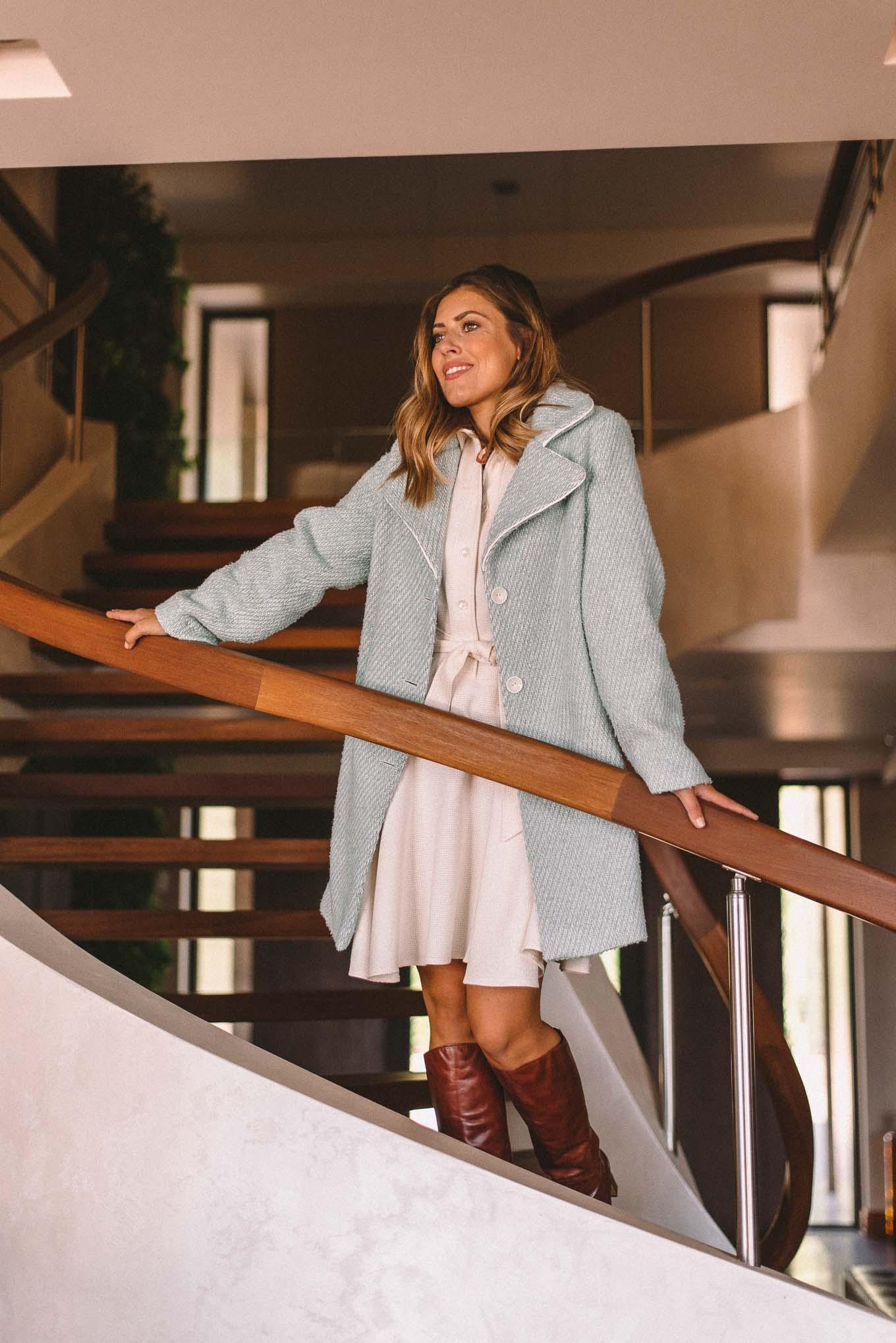 Autumn 2020 Bulgarian designer coat