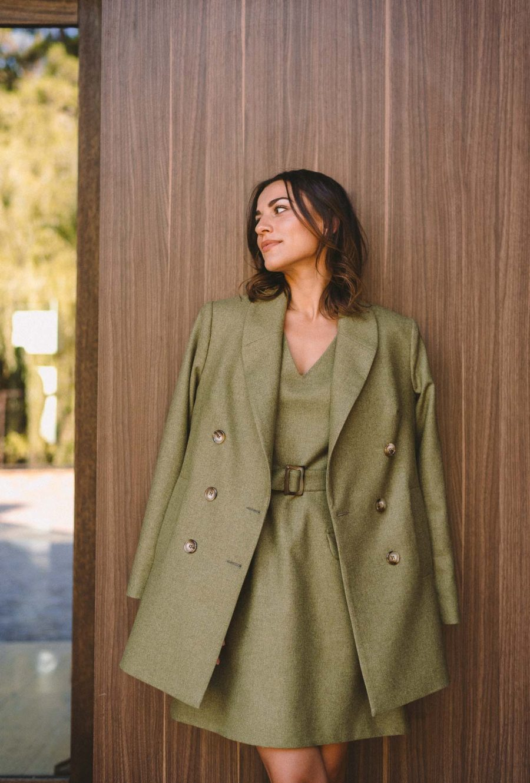 Autumn warm coat collection by Denina Martin