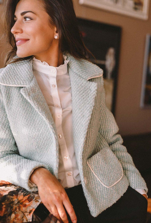 Denina Martin coat collection beauty