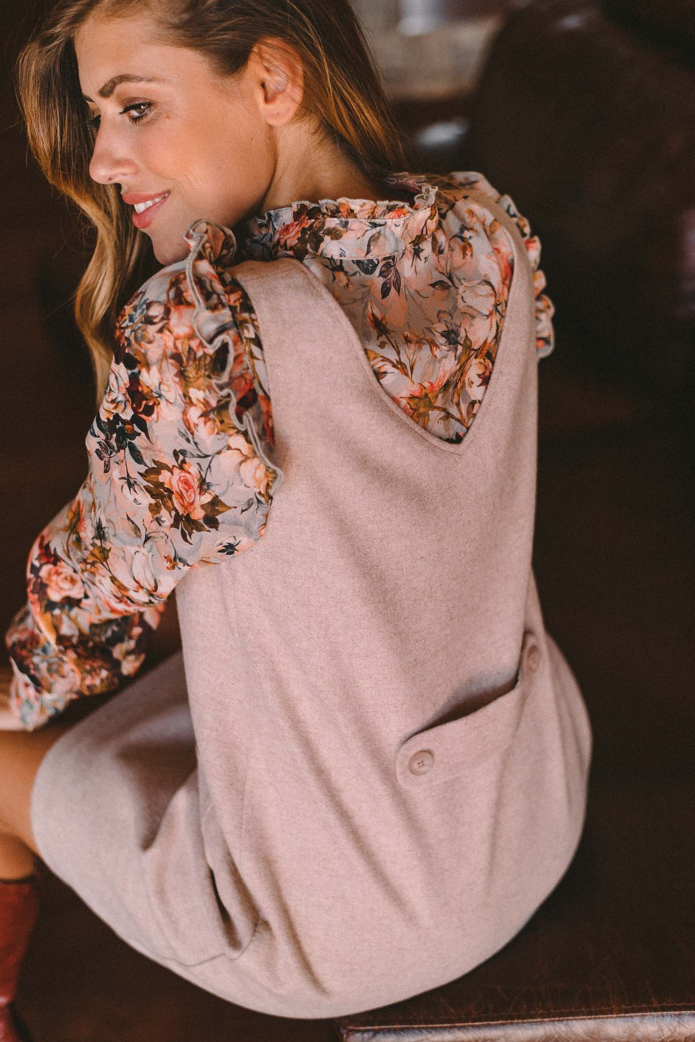 Romantic dress from Denina Martin