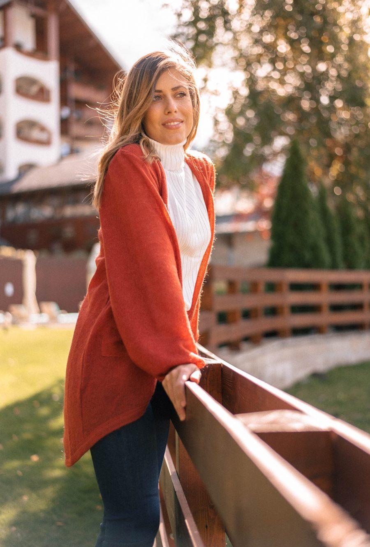Denina Martin Collection Autumn cardigan_9910