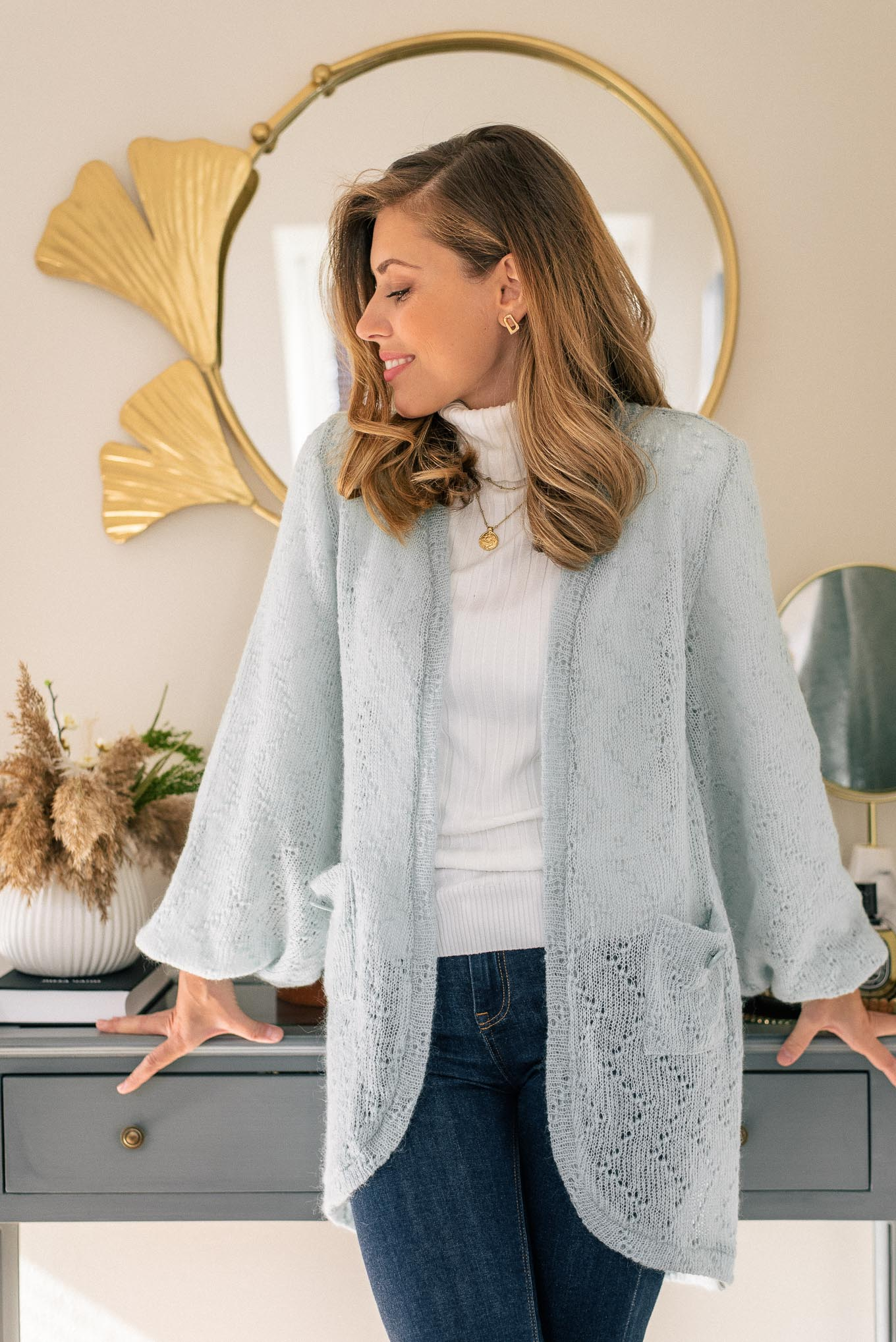 knit wear cardigan by Denina Martin Collection