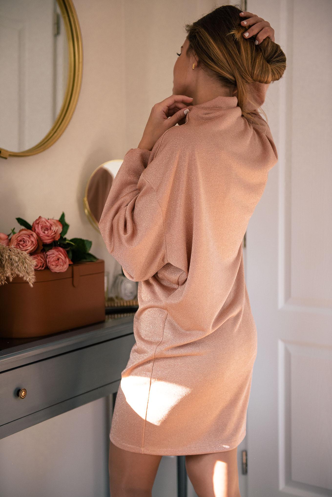 Denina Martin Collection-holiday sparkling dress