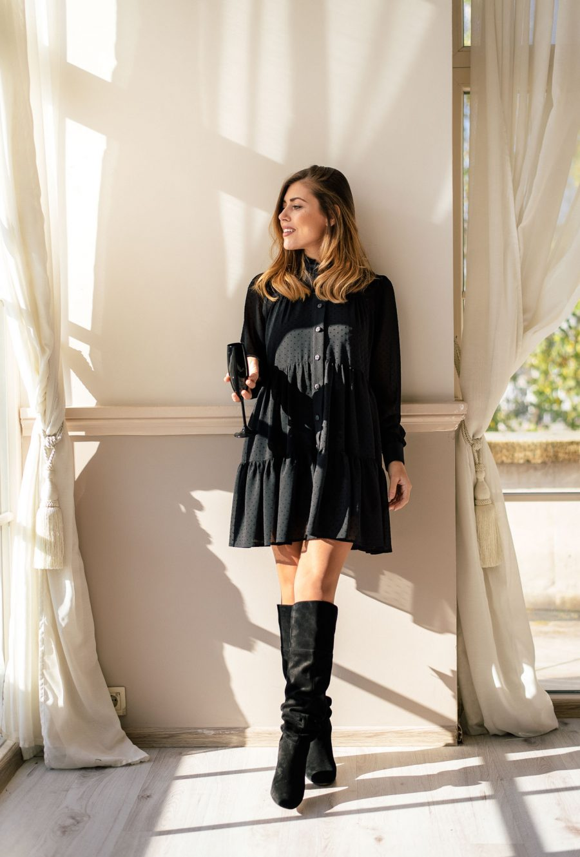 Holiday edition black little dress