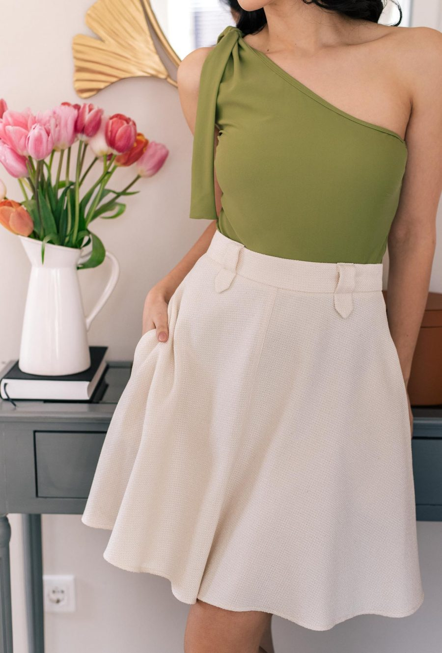 Cotton skirt spring collection_4937