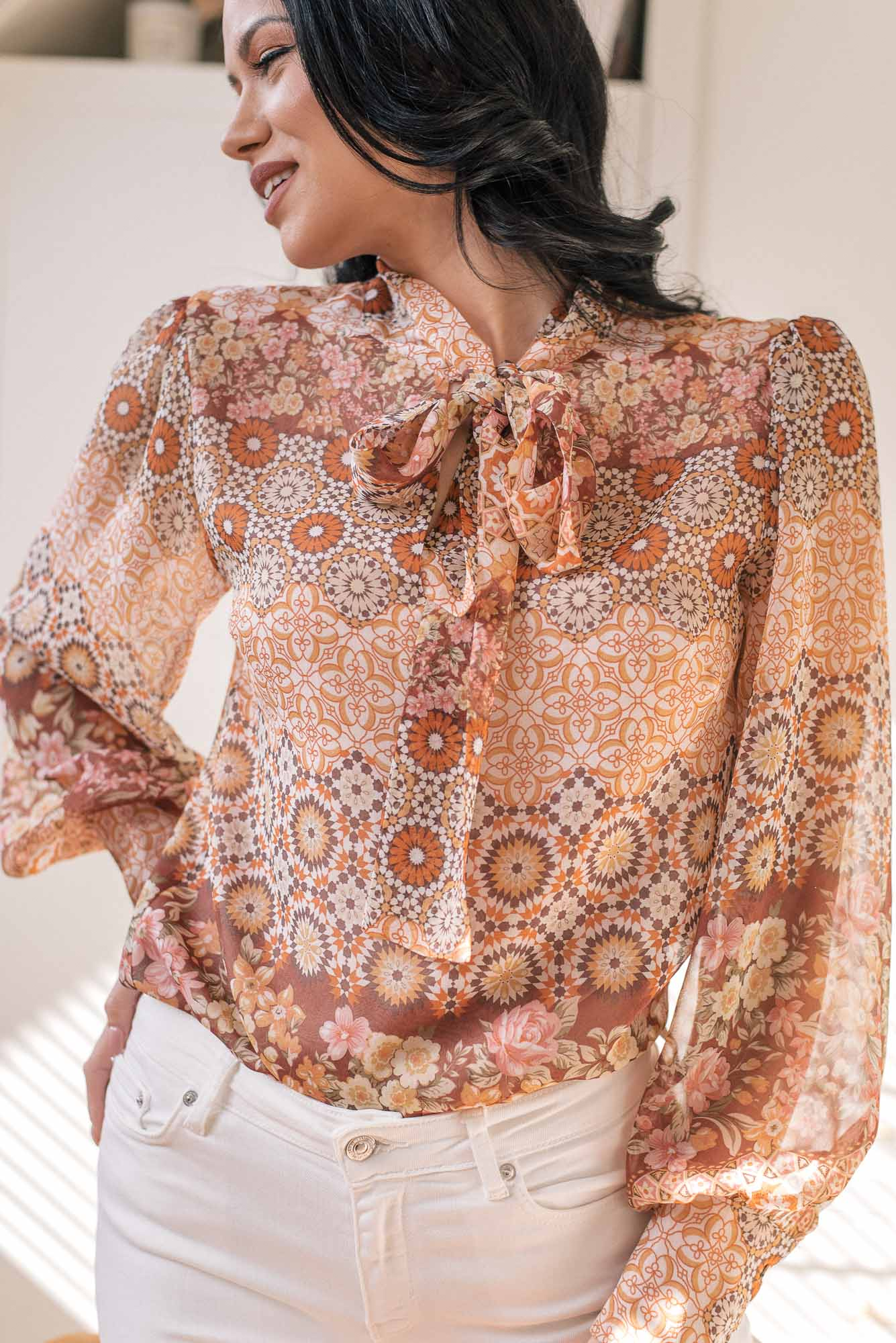 Denina Martin Collection Silk blouse