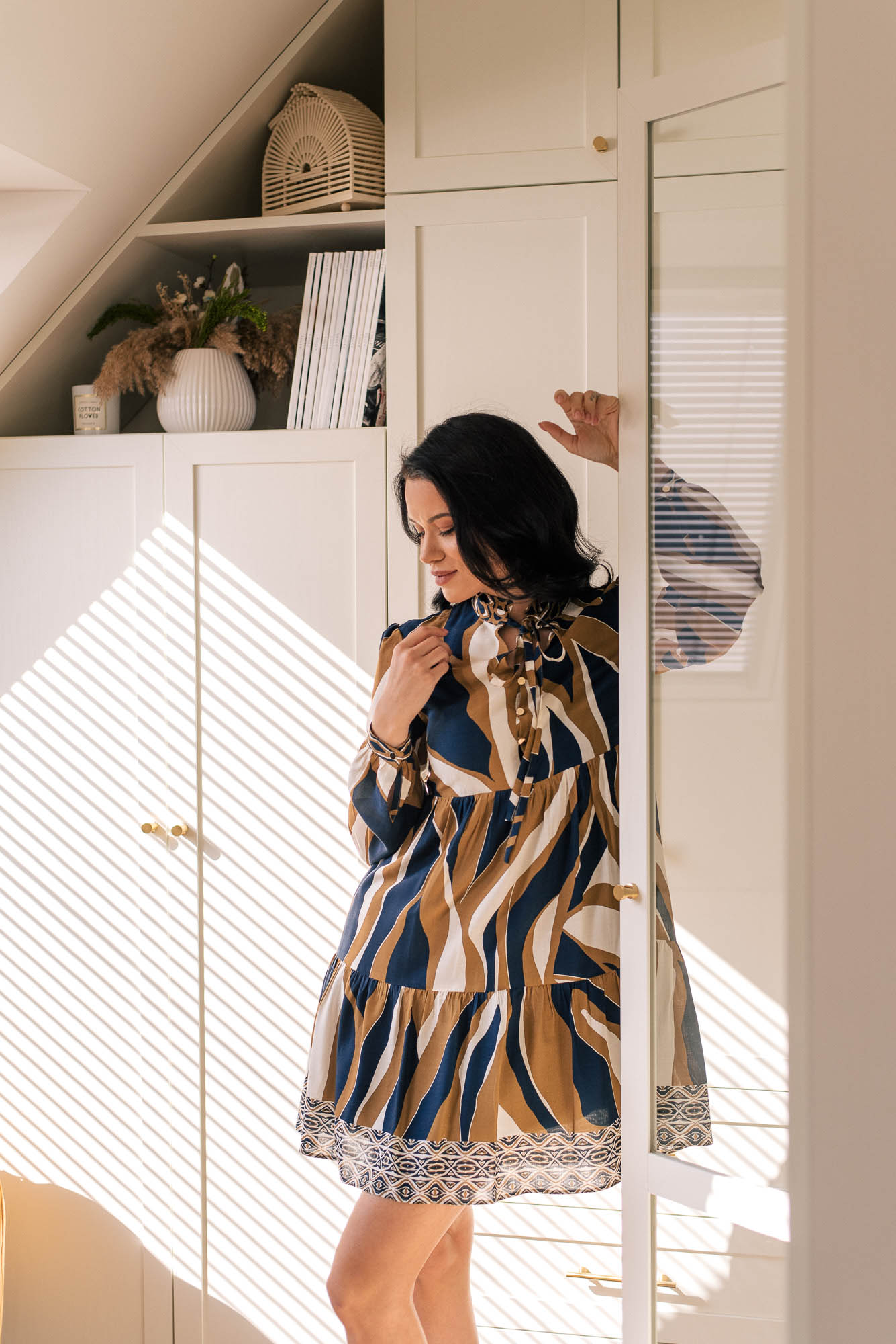 Denina Martin Collection viscose dress ss21
