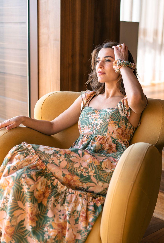 Лятна рокля от колекция Денина Мартин