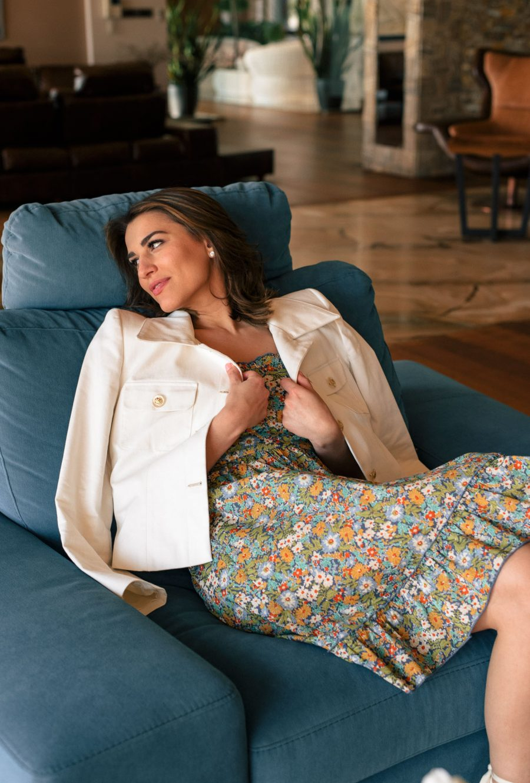 Denina Martin Collection summer provence dress