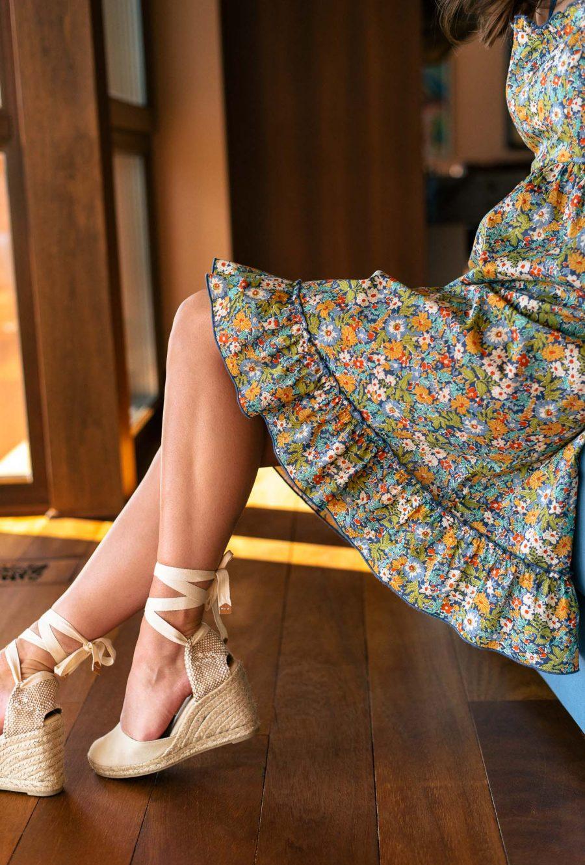 Floral provence dress 202105_7844