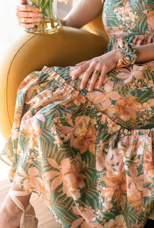 Gloria dress summer 21 by Denina Martin Collection