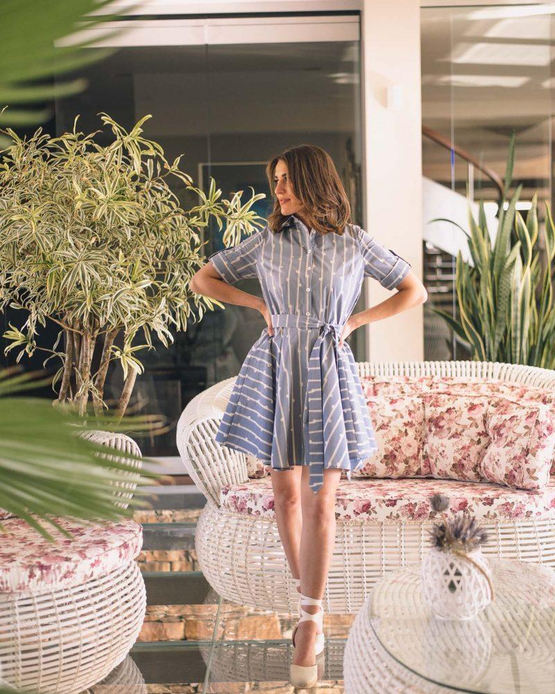Linda cotton dress