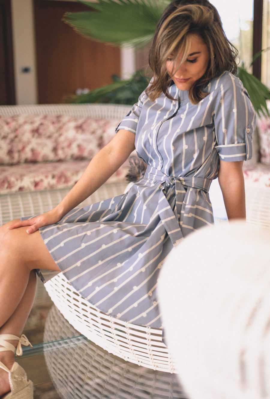 Linda summer shirt dress