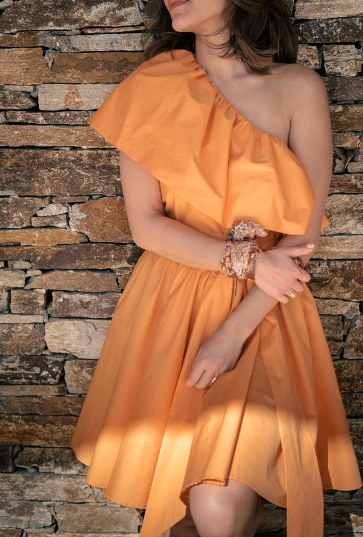 Lorie one shoulder summer dress 75042021
