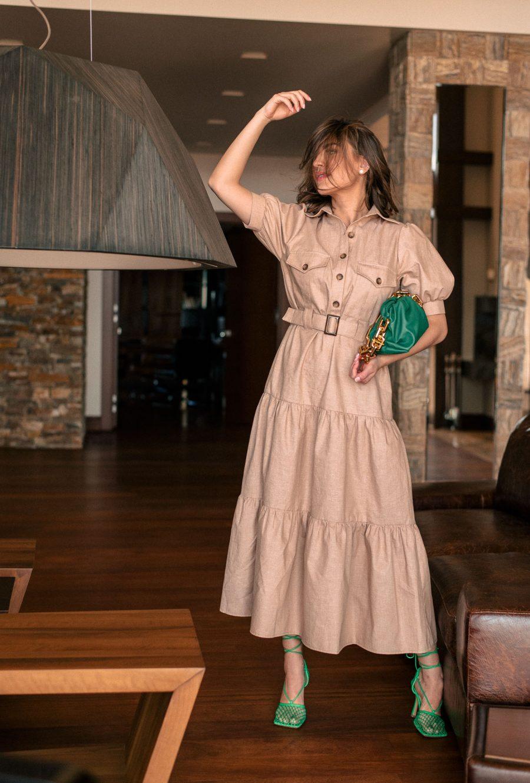 Serina safari dress summer 2021 collection