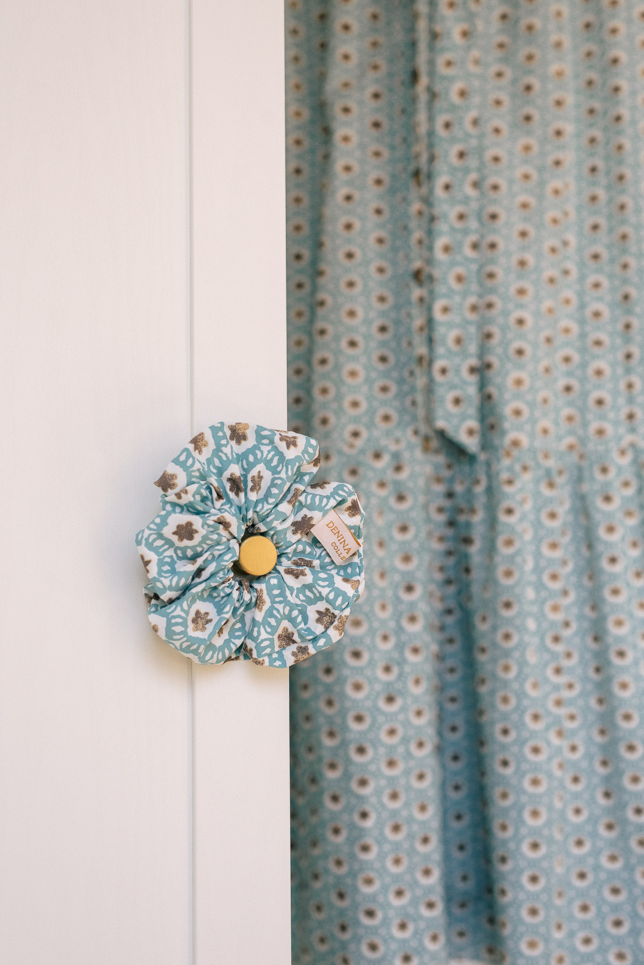 Olivia scrunchie from Denina Martin Collection