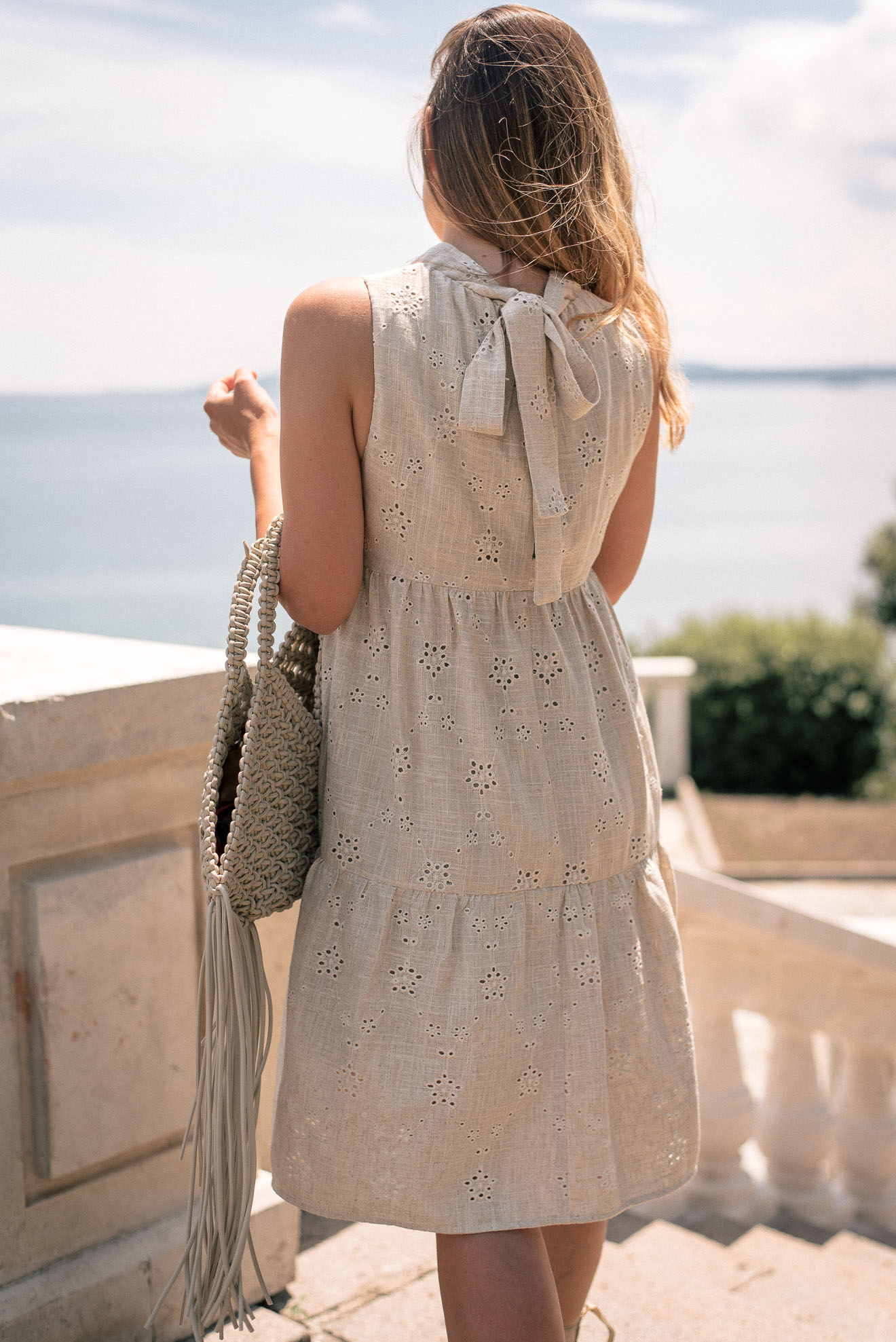 wearing my Denina Martin Collection dress