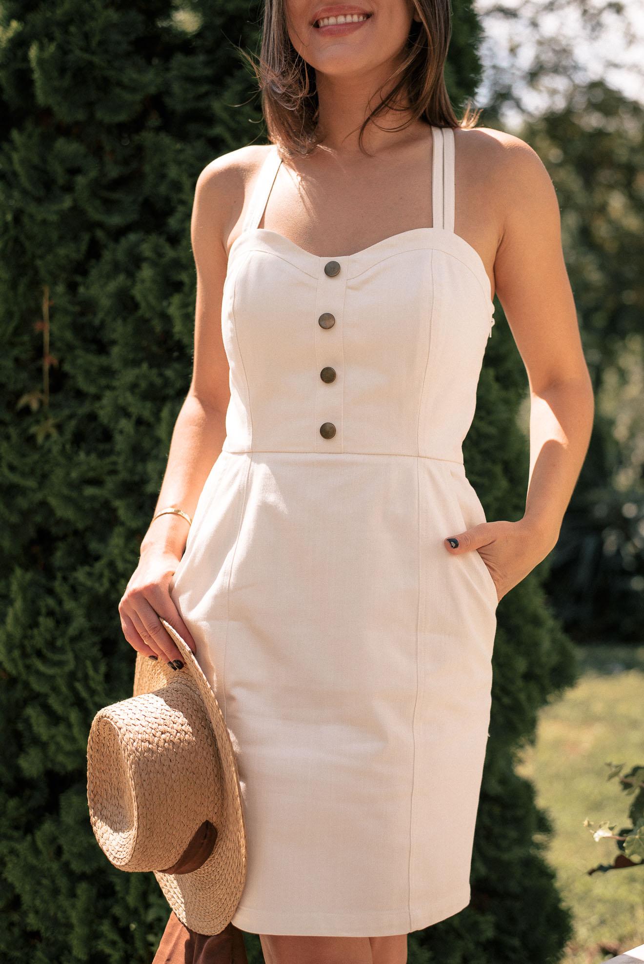 Denina Martin denim dress 20210621