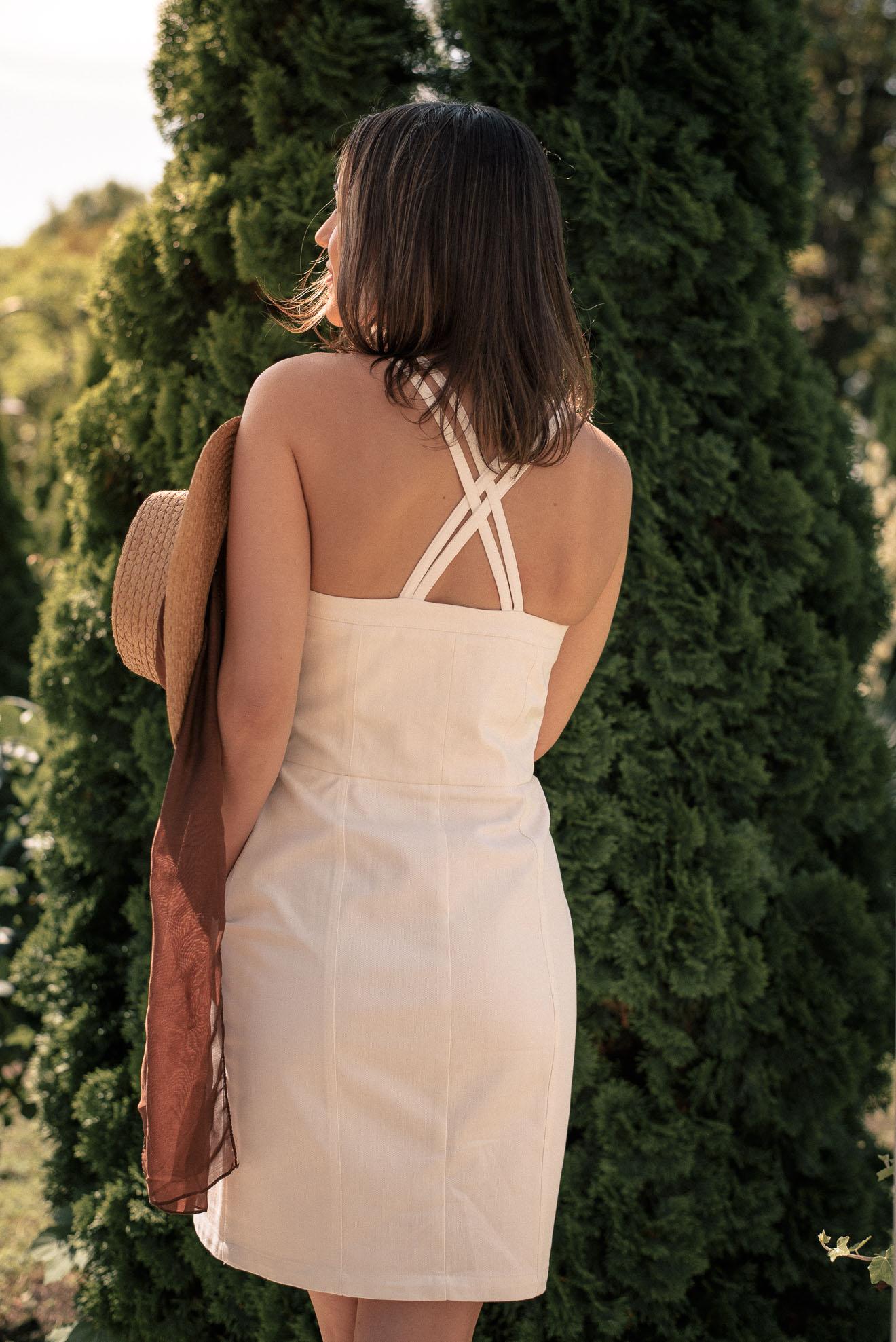 Hot summer denim dress 20210621