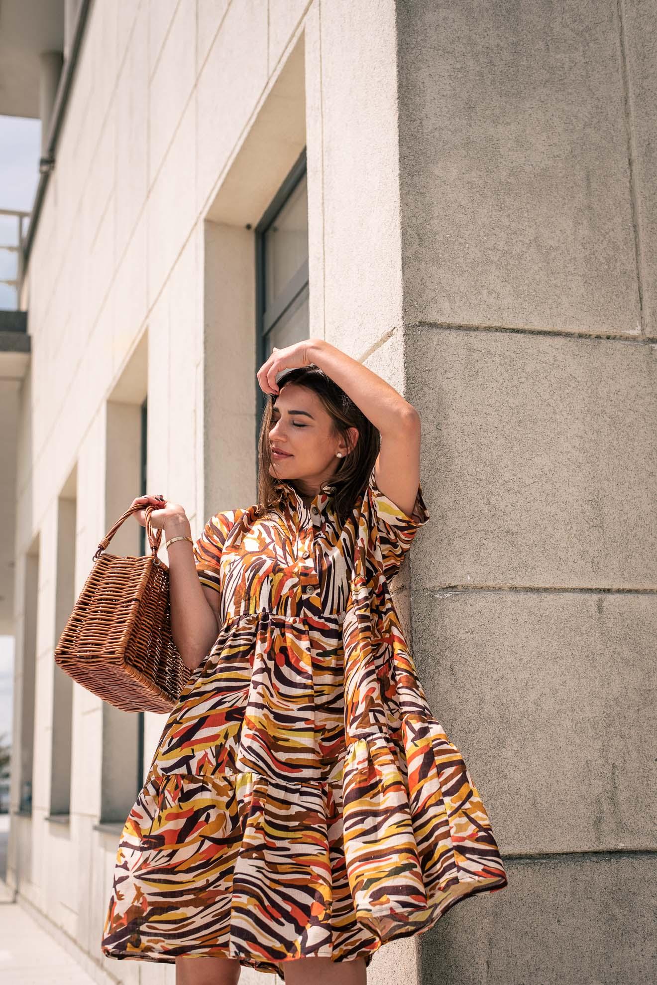 100% Linen dress by Denina Martin Collection