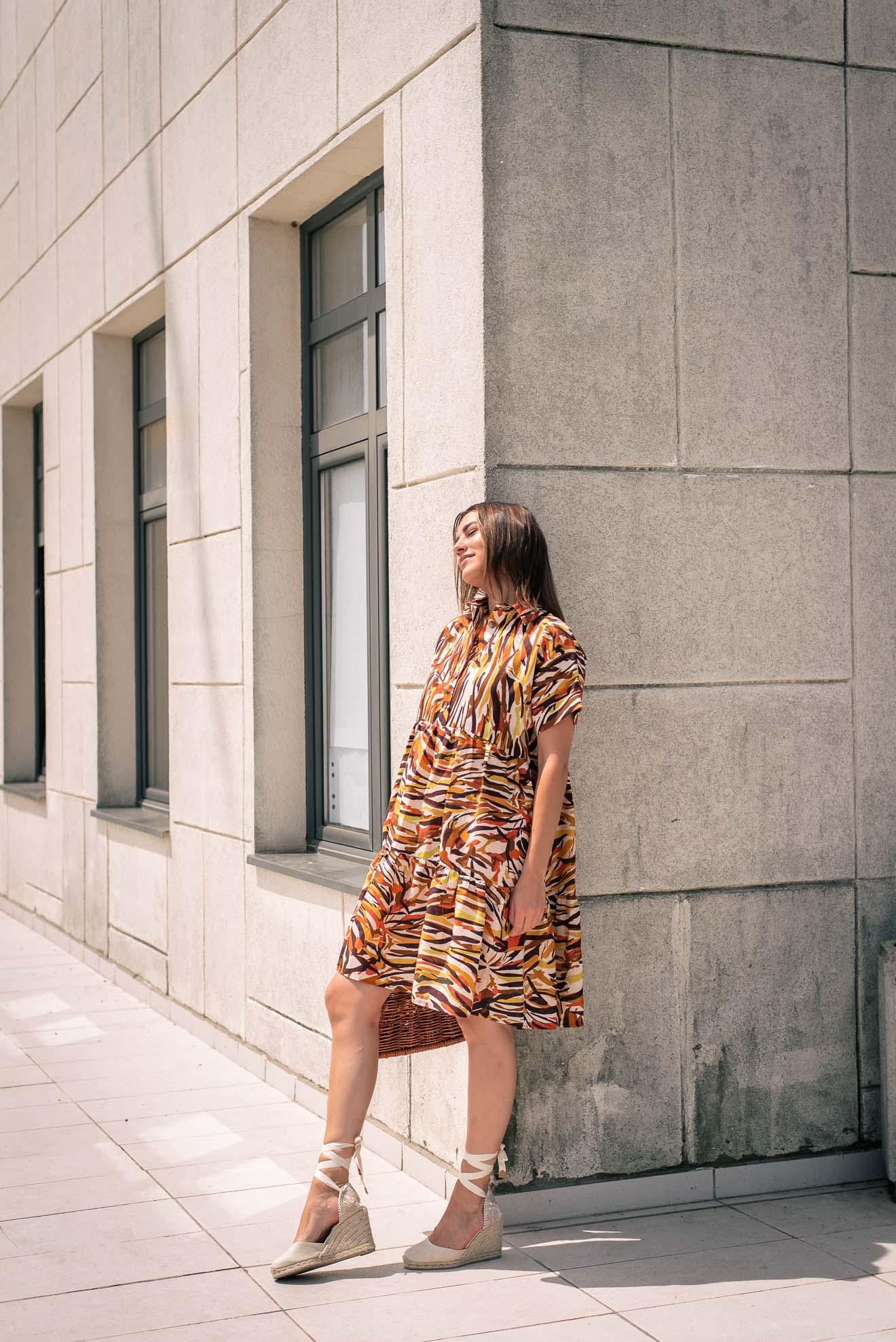 100% linen dress collection summer