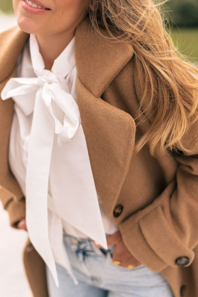 Styling the new wool cashmere coat-by-Denina Martin Collection